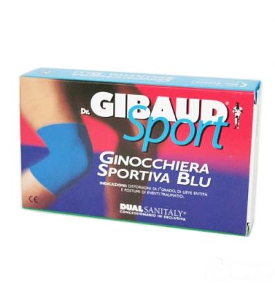 Dr. Gibaud Sport ginocchiera sportiva blu tg.02