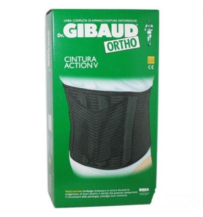 Dr. Gibaud Ortho cintura action V tg.02 nera