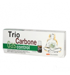 Trio carbone gas control 7flaconcini