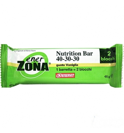 enerZONA bar Nutrition vaniglia