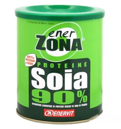enerZONA Proteine polvere Soia 90% 216g gusto naturale