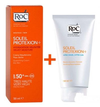 RoC Soleil protexion viso pelle secca spf50+ 50ml