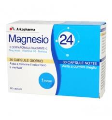 Arkopharma Magnesio 24 60cps