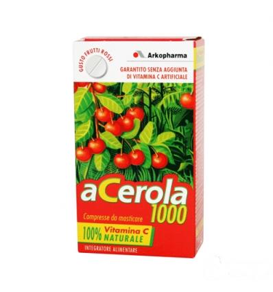 ARKOPHARMA Acerola 1000 30cpr frutti rossi