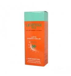 Lichtena sole latte spf50+ 100ml