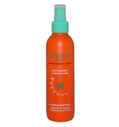 Lichtena sole latte spray spf20 200ml
