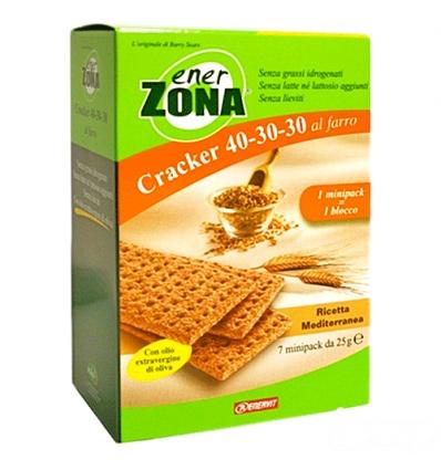 enerZONA Cracker al farro mediterraneo 7 minipack