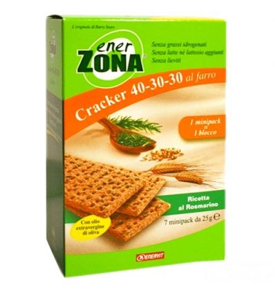 enerZONA Cracker al farro rosmarino 7 minipack