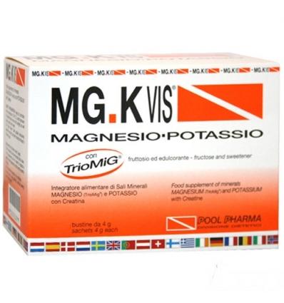MG.K VIS Magnesio Potassio 14 buste arancia