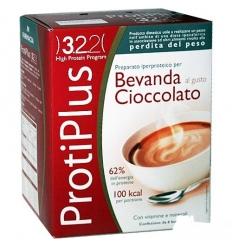 ProtiPlus bevanda al cioccolato box 6 preparati
