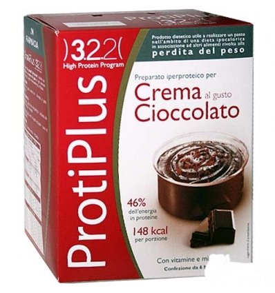 ProtiPlus crema al cioccolato box 6 preparati