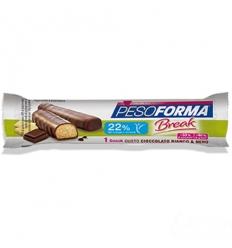 PesoForma snack cioccolato bianco e nero 31g