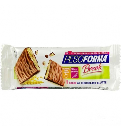 PesoForma break snack cioccolato al latte 20g