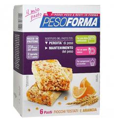 PesoForma barretta ai cereali e arancia 6 pasti