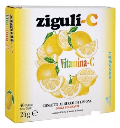 Ziguli-C 40 palline limone