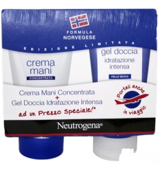 Neutrogena crema mani profumata 75ml + gel doccia