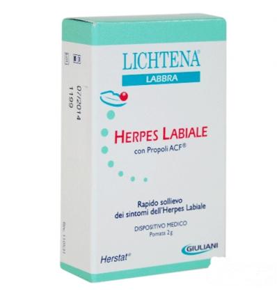 Lichtena labbra herpes labiale 15ml