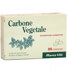 MV Carbone vegetale 25cpr
