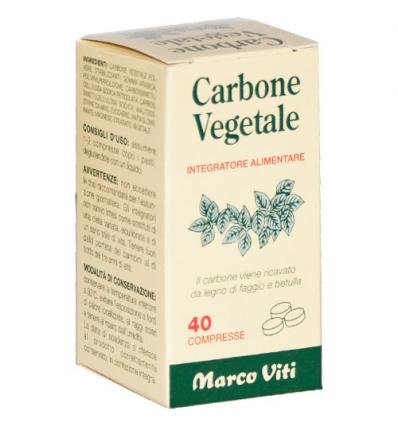 Marco Viti Carbone vegetale 40cpr