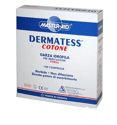 Dermatess cotone garza idrofila 10x10cm 100pz