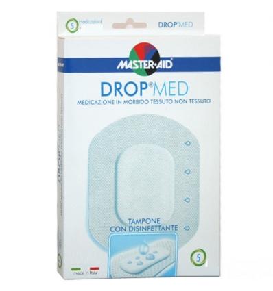 Drop med medicazione adesiva sterile 10x12cm 5pz