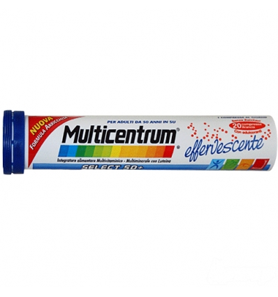 Multicentrum select 50+ 20cpr effervescente