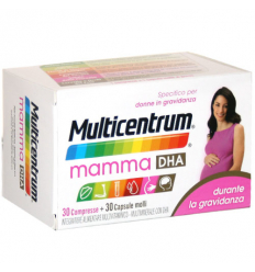 Multicentrum mamma DHA 30cpr + 30cps