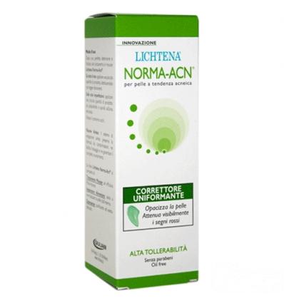 Lichtena Norma-Acn correttore uniformante 30ml