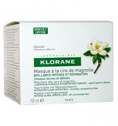 Klorane cera di magnolia maschera capelli spenti 150ml