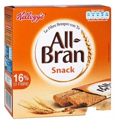 Kelloggs All-bran snack 6x40g