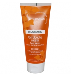 Klorane gel doccia dolcezza 200ml