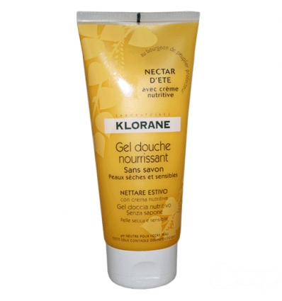 Klorane gel doccia nettare estivo 200ml