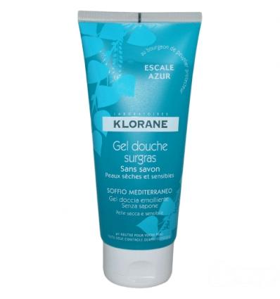 Klorane gel doccia soffio mediterraneo 200ml