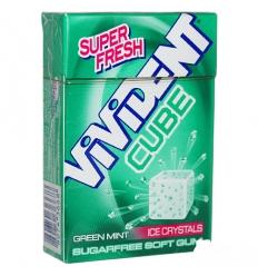 Vivident cube green mint