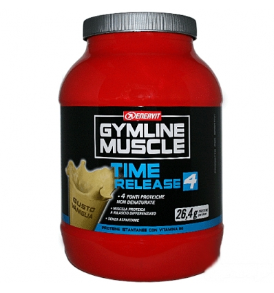 GymLine Muscle TIME RELEASE 4 800g vaniglia