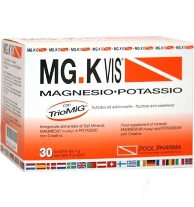 MG.K VIS Magnesio Potassio 30 buste arancia