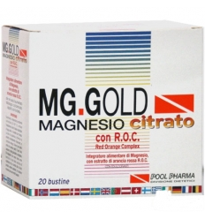 MG.K GOLD Magnesio Citrato 20 buste