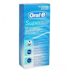 Oral B filo interdentale Superfloss 50 fili